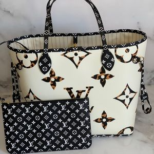 Neverfull giant jungle collection Louis Vuitton mm